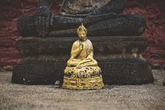 Gold Gautama Buddah Stock Photos