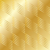Gold geometric pattern Stock Photography