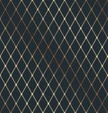 Gold geometry isometric thin line texture pattern stock illustration