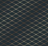 Gold geometry isometric thin line texture pattern stock illustration