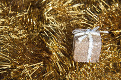 Gold Gift Abstract Stock Photos