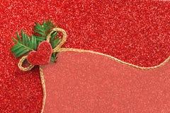 Gold gift ribbon bow Stock Image