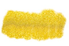 Gold glitter. Abstract light background stock image