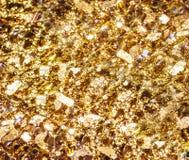 Gold glitter Royalty Free Stock Photo