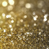 Gold glitter background. Christmas background with gold glitter design Stock Photography