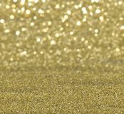 Gold glitter background. Christmas background of gold sparkly glitter Royalty Free Stock Image