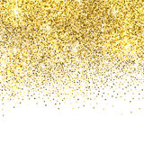 Gold glitter background Royalty Free Stock Photos