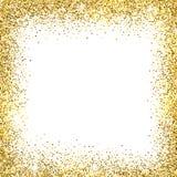 Gold glitter background Stock Photo