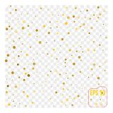 Gold glitter corners for frame or border, background vector   Stock Photos