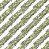Gold glitter diagonal stripes on a white background, seamless endless pattern royalty free illustration