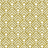 Gold Glitter Geometric Pattern Background Royalty Free Stock Images