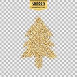 Gold glitter  object Stock Photo