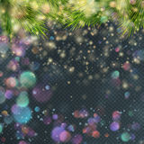 Gold glitter particles background. EPS 10 stock illustration