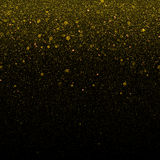 Gold glitter particles background Royalty Free Stock Photos