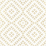 Gold glitter pattern of diagonal lines circle. Geometric seamless gold glitter pattern of diagonal lines and circle, abstract background of golden shiny stripes Royalty Free Stock Images