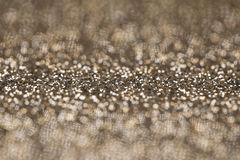 Gold Glitter Selective Focus Background Royalty Free Stock Image