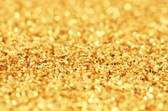 Gold Glitter Stock Images