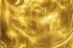 Free Gold Glitter Shimmering Magic Bokeh Background Royalty Free Stock Images - 164537749