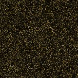 Gold glitter shine texture on a black background. Golden explosi. On of confetti. Golden abstract particles on a dark background. Isolated Design element. Vector Royalty Free Stock Photo
