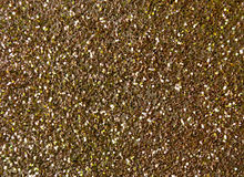 Gold glitter sparkle background Royalty Free Stock Images