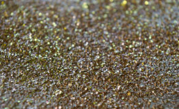 Gold glitter sparkle background Royalty Free Stock Photography