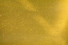 Gold Glitter Sparkle Background Stock Photo