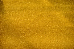 Gold Glitter Sparkle Background Stock Photography