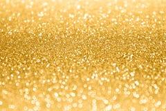 Gold Glitter Sparkle Confetti Background