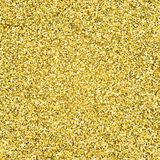 Gold glitter sparkling pattern. Decorative seamless background. Shiny glam abstract texture. Tile sparkle golden confetti backdrop Stock Photo