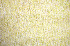 Gold Glitter Speckles on White Background stock photography