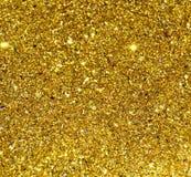 Gold Glitter Stars Background stock images