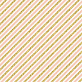Gold glitter stripes. Stock Photography