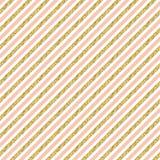 Gold glitter stripes. Stock Photography