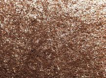 Gold glitter texture abstract background. Close up royalty free stock image