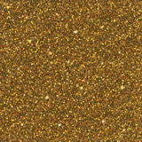 Gold glitter texture. Antique golden sparkles texture with shine, gold glitter background. Vector illustration, seamless pattern, glamour style for your design Stock Image