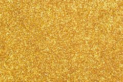 Gold glitter texture background