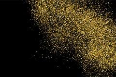 Gold glitter texture. Stock Image