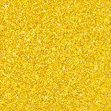 Gold glitter texture. Golden sparkles texture with shine, gold glitter background. Vector illustration, seamless pattern, glamour style for your design Royalty Free Stock Photography