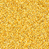 Gold glitter texture Royalty Free Stock Photos