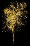 Gold glitter texture. Stock Photo