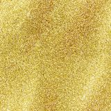 Seamless gold glitter texture isolated on golden background. Sparkle sequin tinsel yellow bling. Gold glitter texture isolated on golden background. Sparkle royalty free stock image
