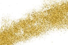 Gold Glitter Texture. royalty free stock photo