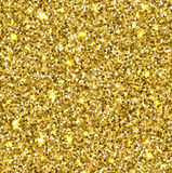 Gold glitter texture. Stock Photography