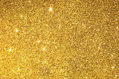 The gold glitter texture surface  background. Gold glitter texture surface  background Stock Images