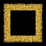 Gold glitter texture vector. Royalty Free Stock Photo