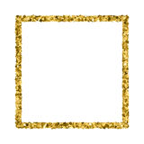 Gold glitter texture vector. Royalty Free Stock Photography