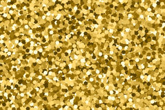 Gold glitter texture vector. Royalty Free Stock Photos