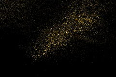 Gold glitter texture vector. Stock Image