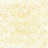 Gold glitter on white background Royalty Free Stock Photo