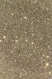 Textured glitter gold background stock images